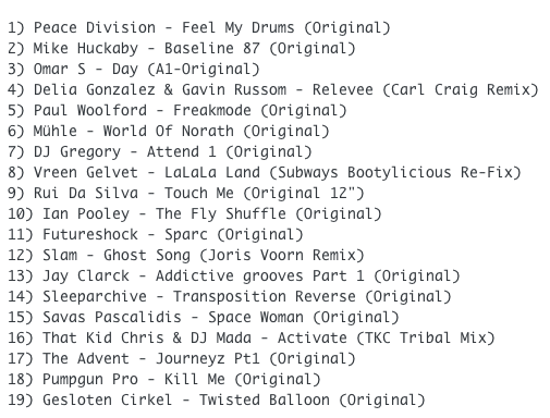 Subway Baby-Funky Stuff From The Vault (Session 6) TRACKLIST