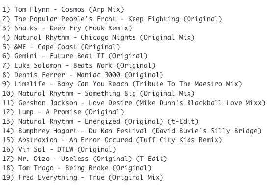 subway-baby-haus-your-buddy-mixsession-32-tracklist