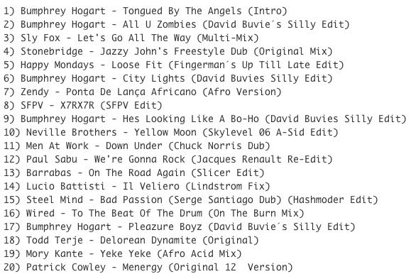 Subway Baby (Various)-Super Balla Erik (Mixtape 8) TRACKLIST