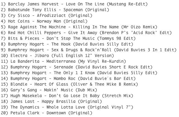 Subway Baby (Various)-Super Balla Erik (Mixtape 9) TRACKLIST